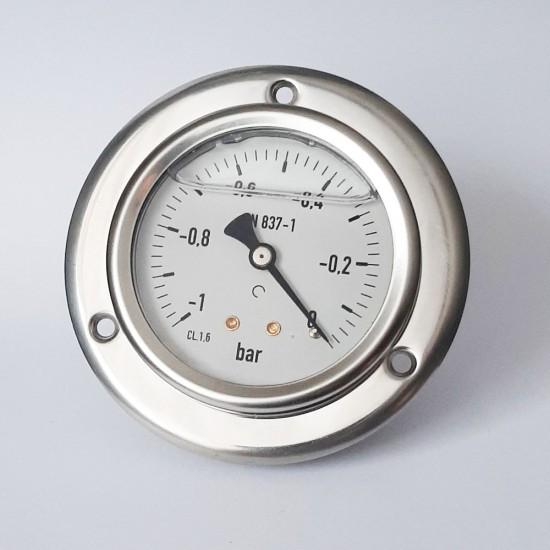 Vacuum gauge M637PFL-1.70, -1/0 bar, 1/4 BSP